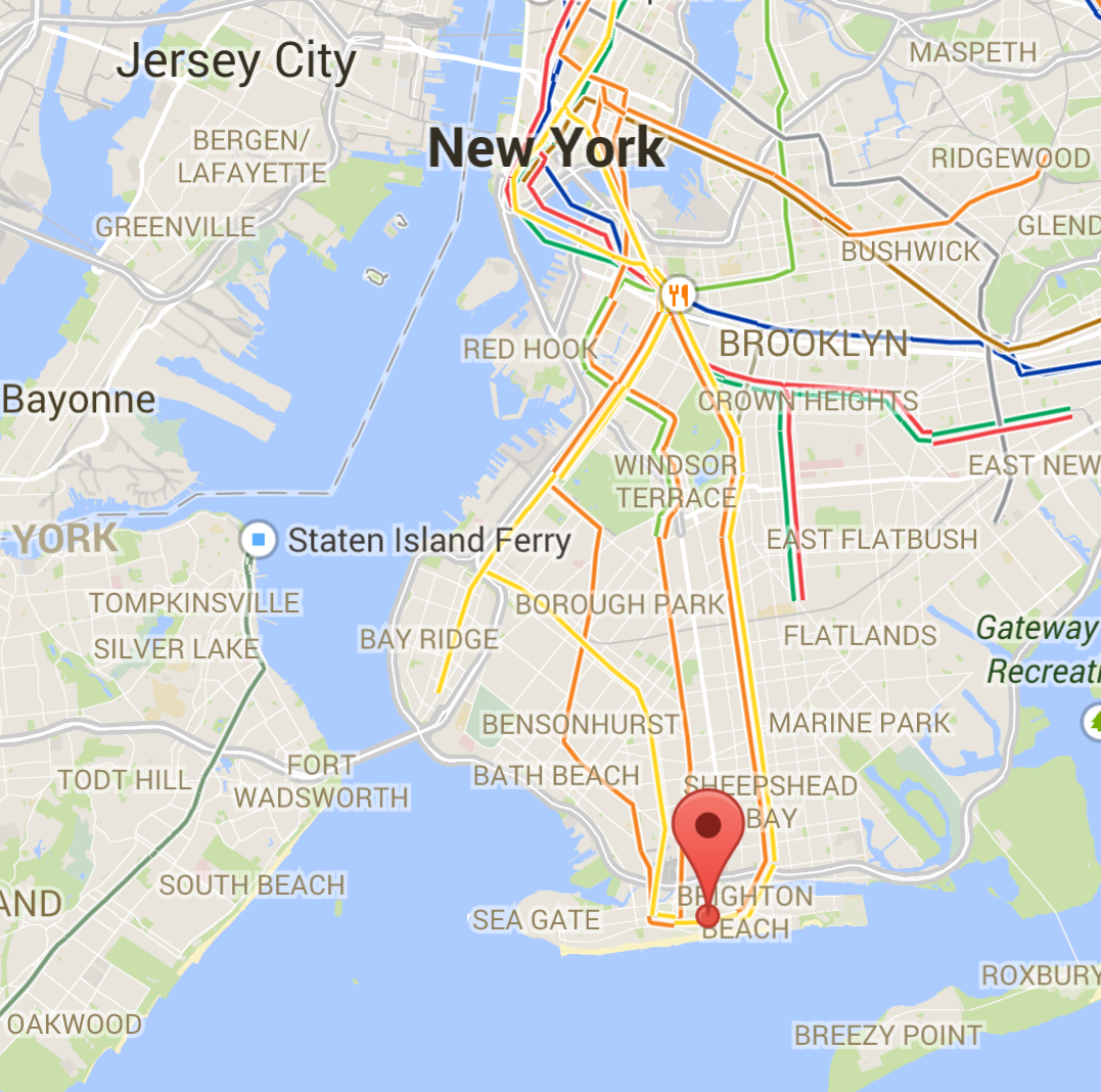 Liberty Island Google Maps