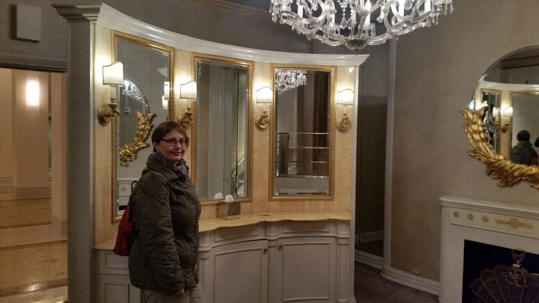 Waschraum im Waldorf Astoria