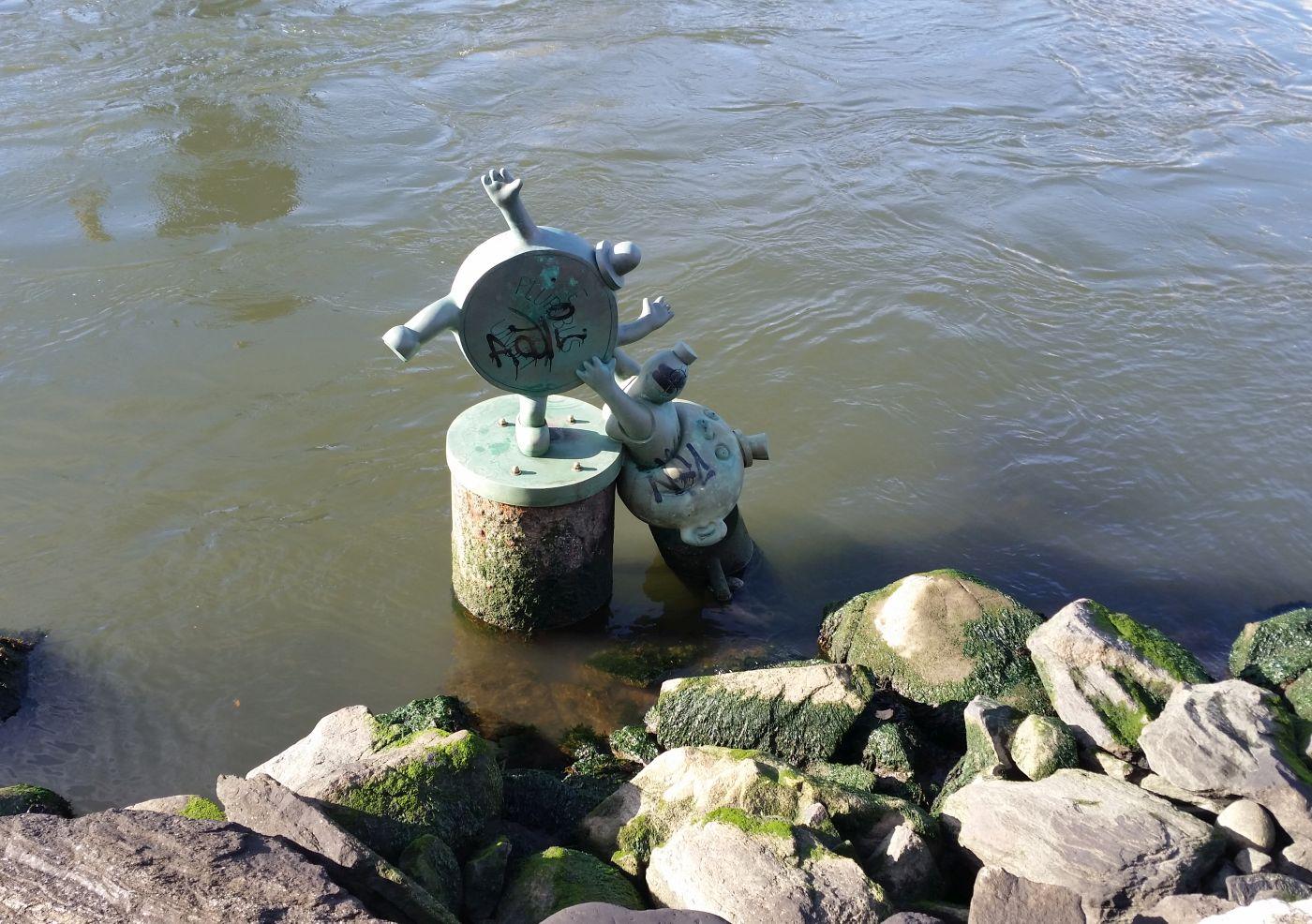 Skulptur im Wasser 2